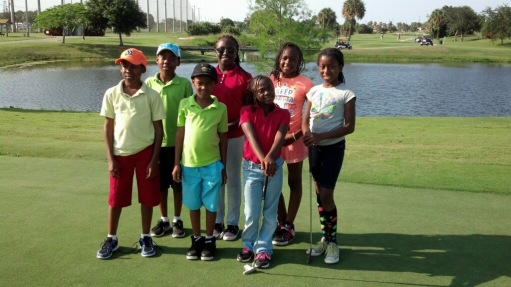 Par 5 Junior Golfers